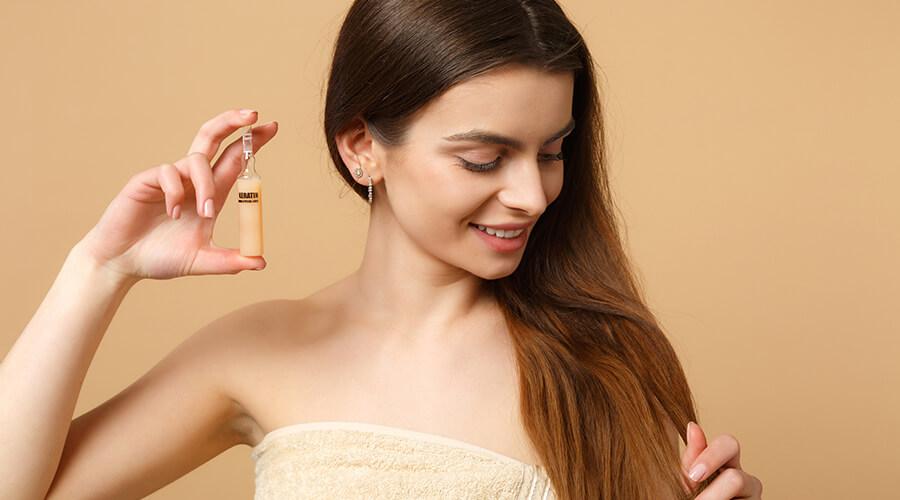 Si tiene el cabello largo, recuerde que necesita de más cuidados para humectarlo y mantenerlo saludable