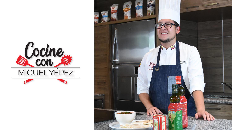 Cocine con Miguel Yépez
