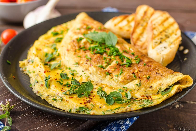 ¡Que viva el omelette!