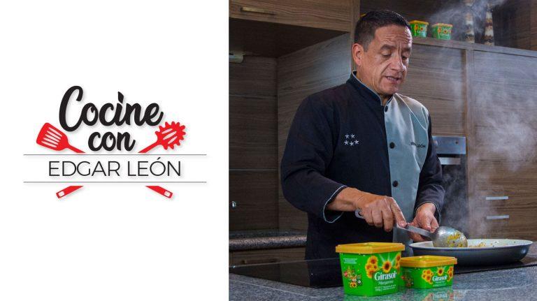 Cocine con Edgar León