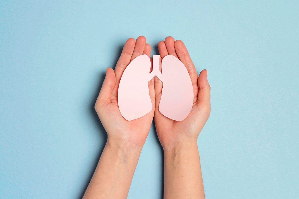 Cuide sus pulmones alimentándose bien