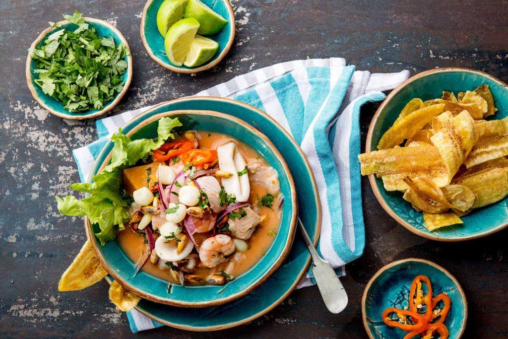 Buen comer en el Perú