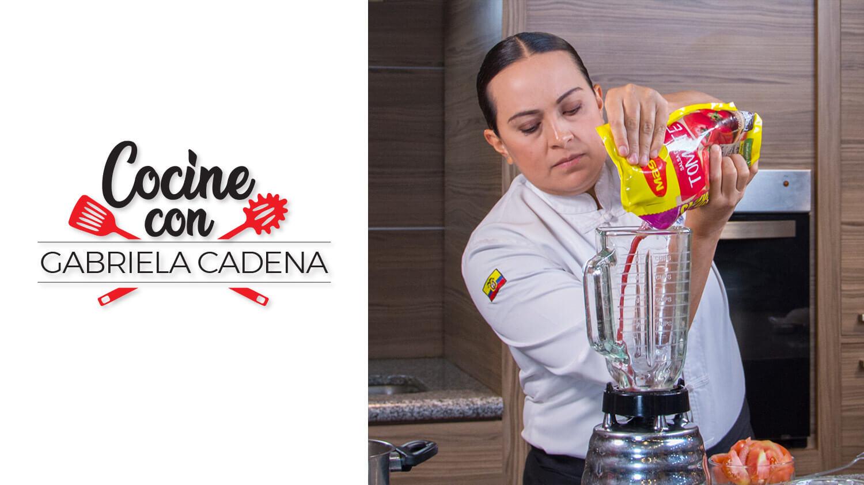 Cocine con Gabriela Cadena