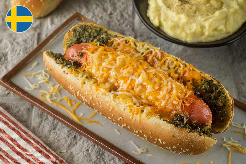 Hot dog sueco